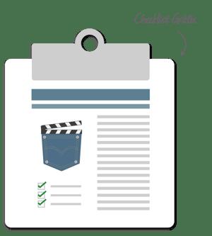 checklist para editar videos