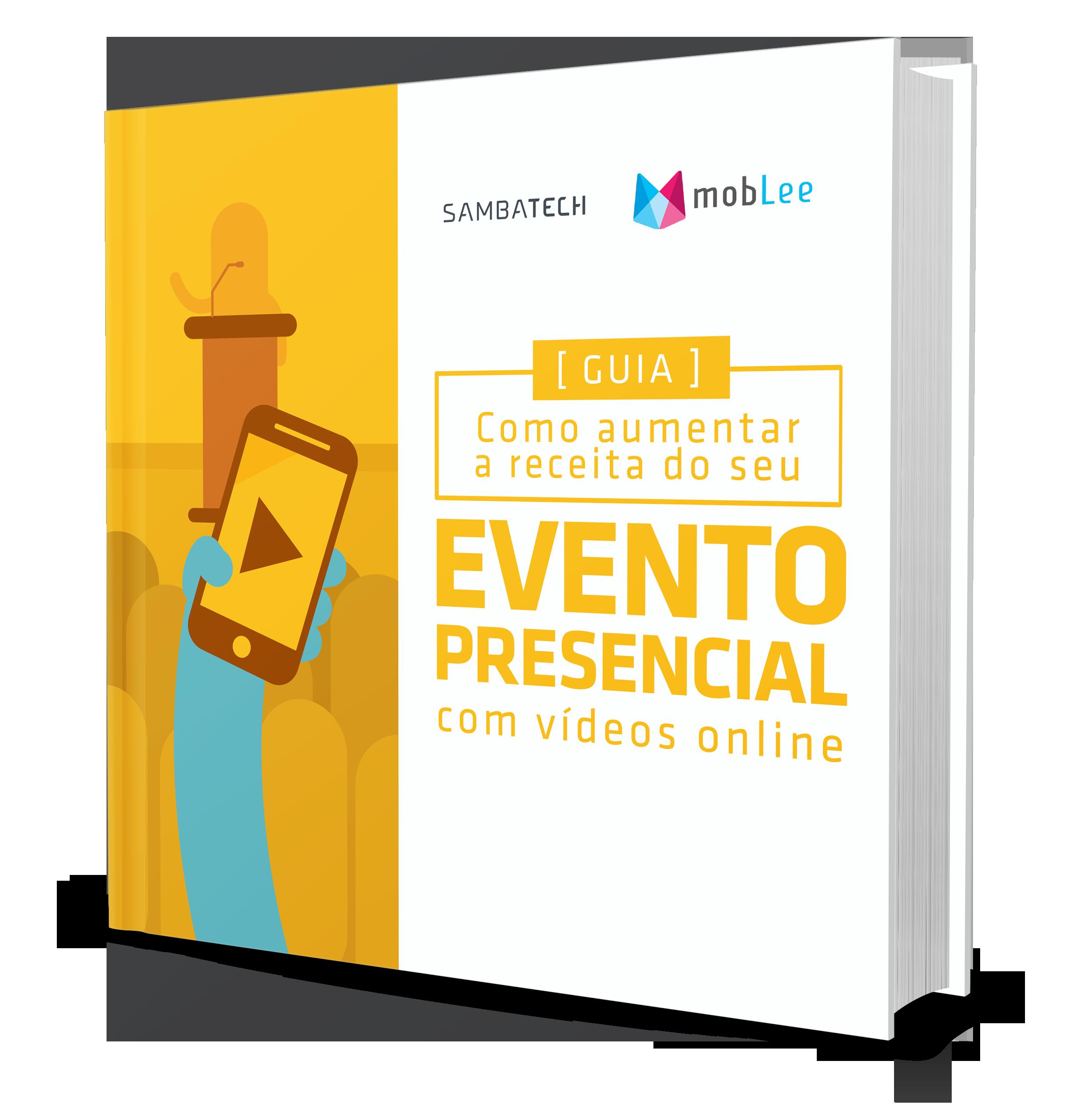 ebook sobre como aumentar a receita do seu evento presencial com videos online