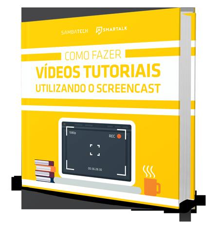 ebook sobre como fazer videos tutoriais utilizando screencast